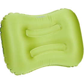 CAMPZ Rectangular Air Pillow, applegreen/grey